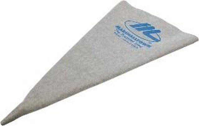 Grout bag manufactured by Marshalltown.