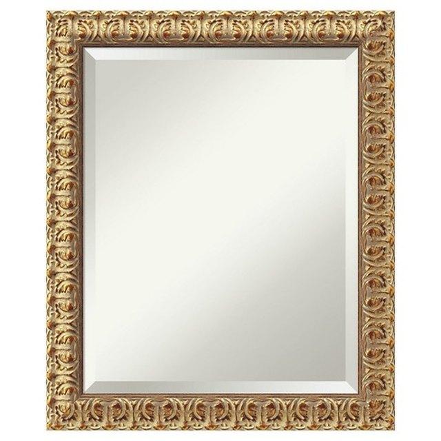 Amanti Art Rectangle Florentine Decorative Wall Mirror