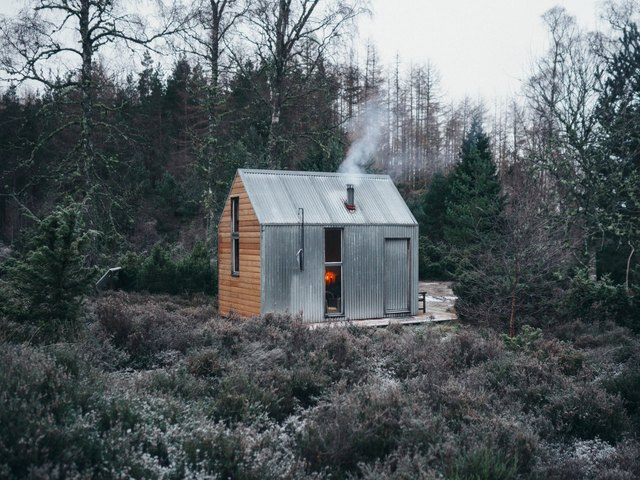 A bothy is also known as a laborer's small hut or cabin.