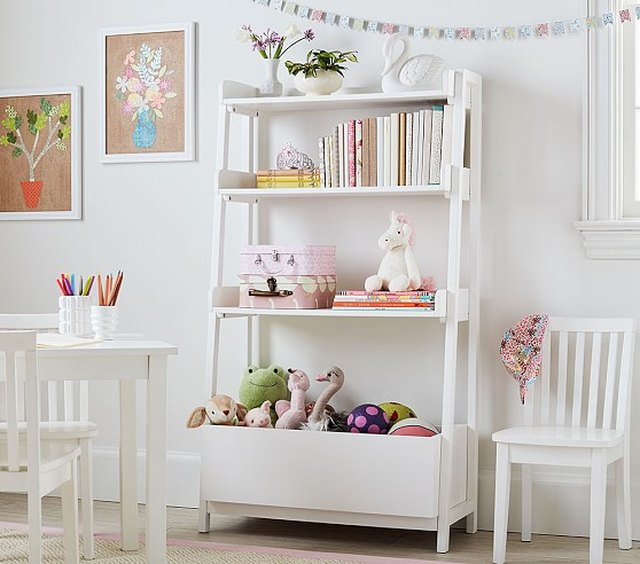 Angled Bookcase