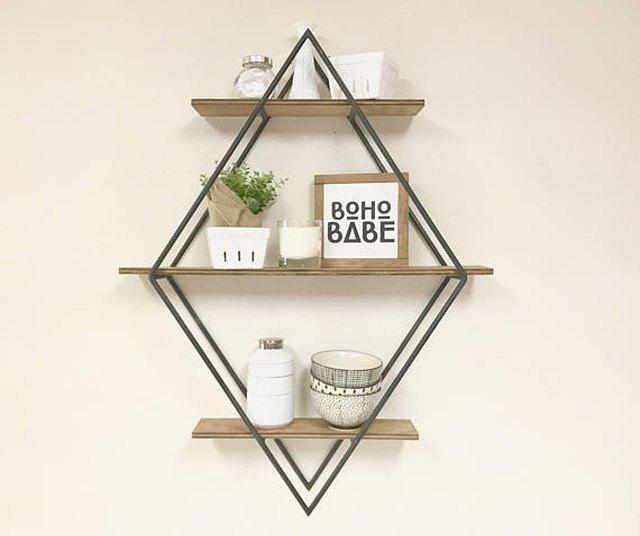 Diamond Book Shelf