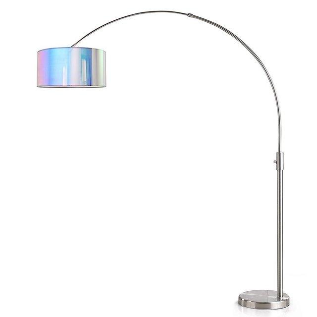 iridescent arch floor lamp