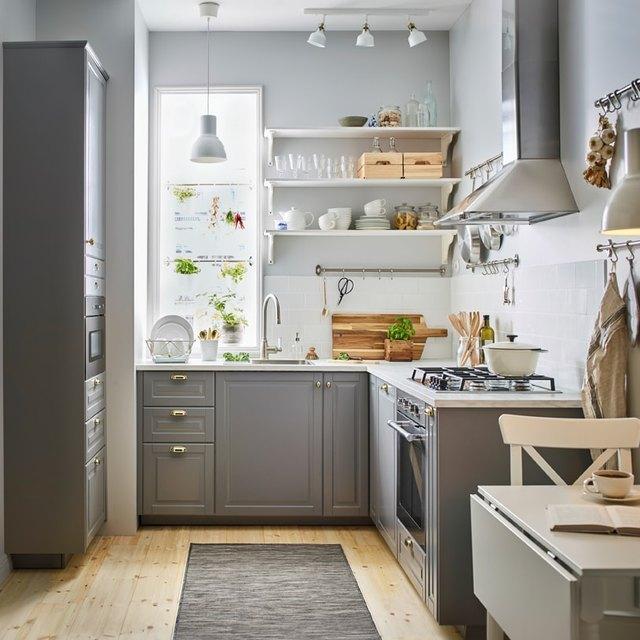 IKEA gallery kitchen