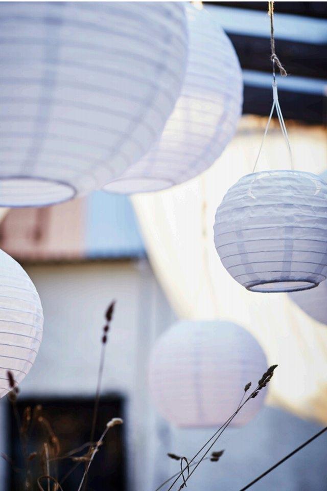 solar-powered lanterns