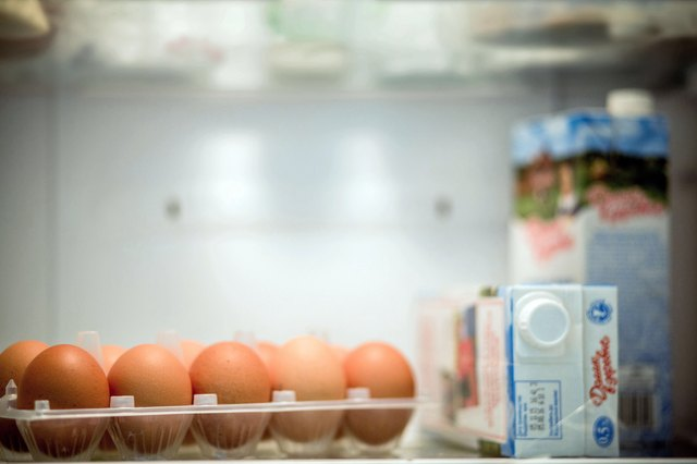 Eggs in refrigerator
