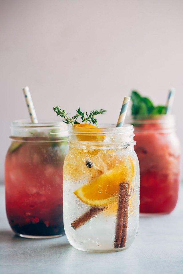 mason jar cocktails
