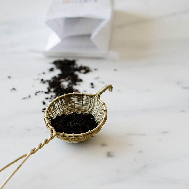 brass wire tea strainer