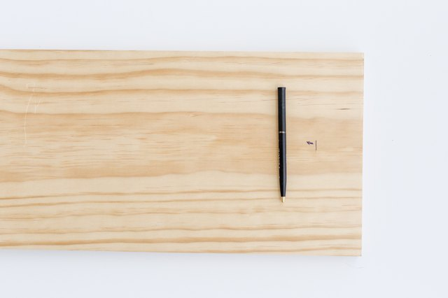Measure and mark your wood pieces.