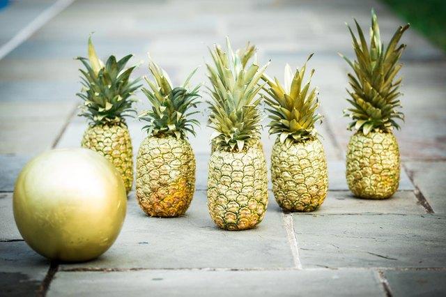 pineapple bowling