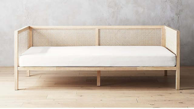 cb2 cane daybed