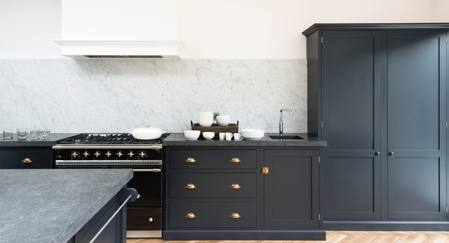 Belgian Blue Limestone Countertop