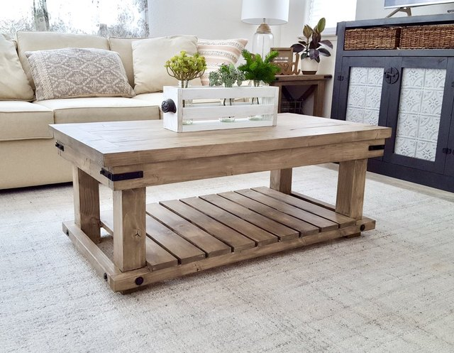 6 DIY Industrial Coffee Table Ideas That You'll Want to Tackle Stat | Hunker