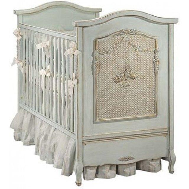 Cherubini Crib in Versailles Blue