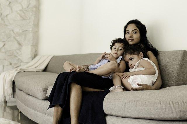 Pratima Anae and her twins