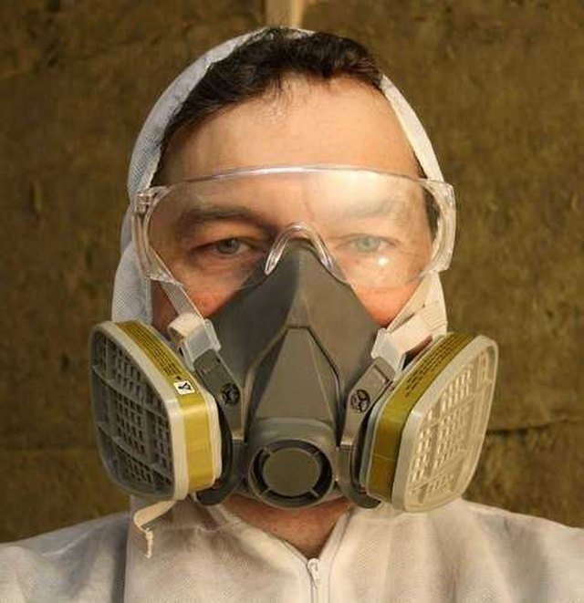 man wearing protective gear