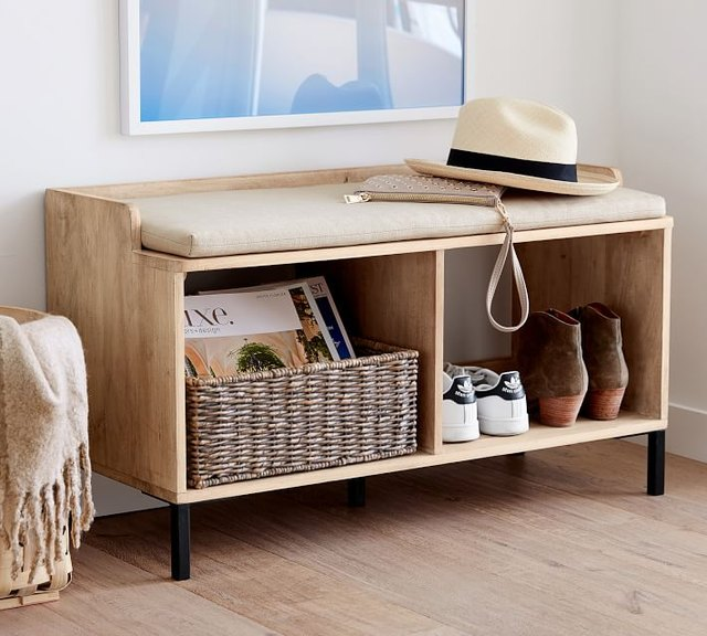 storage bench for entryway