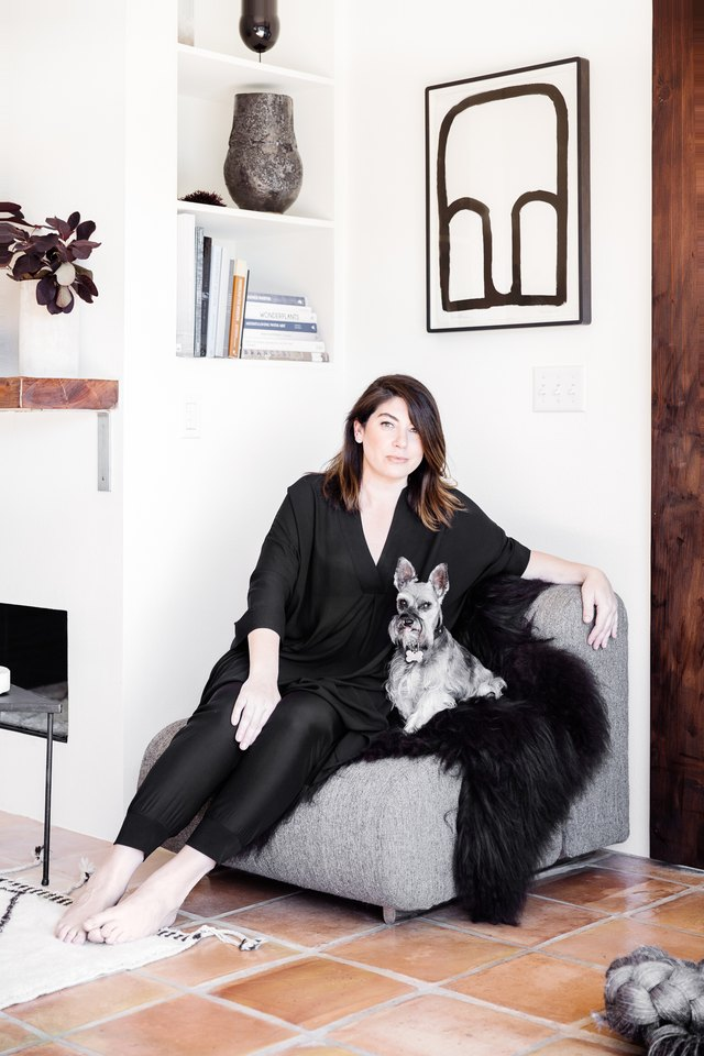Carissa Duncan and her dog, Ginger