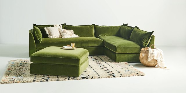this anthropologie couch is my dream couch