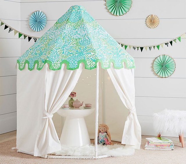 pottery barn kids playhouse tent teepee
