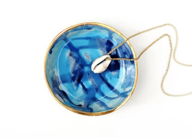 Watercolor Jewelry Bowl