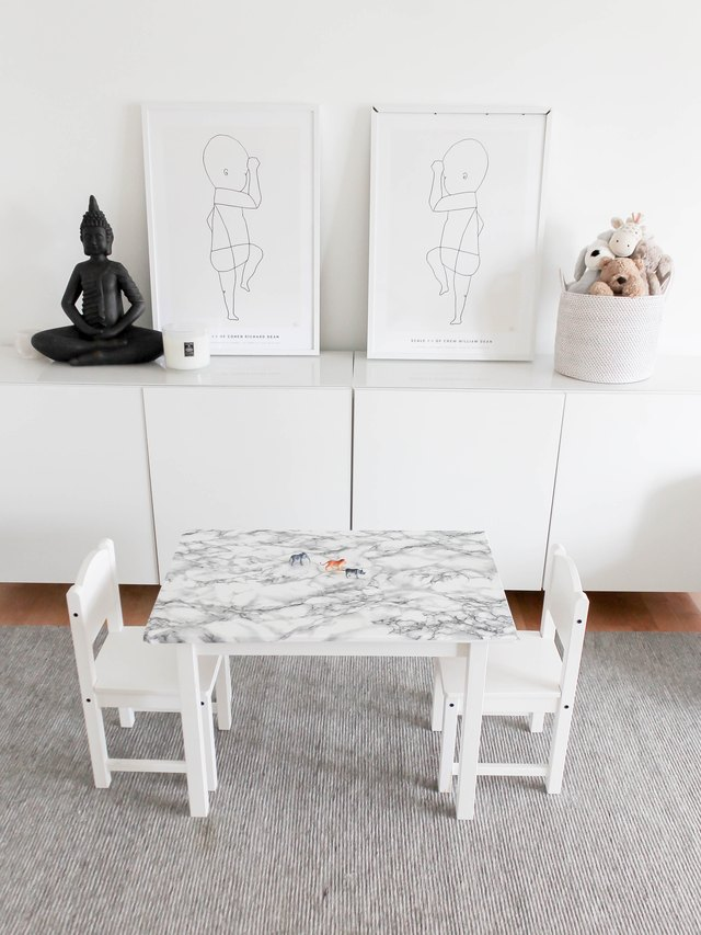 11 Ikea Hacks With Removable Wallpaper That Will Change