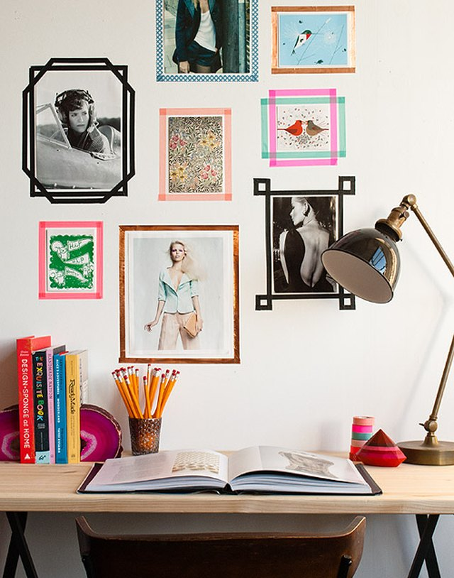 7 Ways to Hang Photos and Art in Your Dorm Room | Hunker