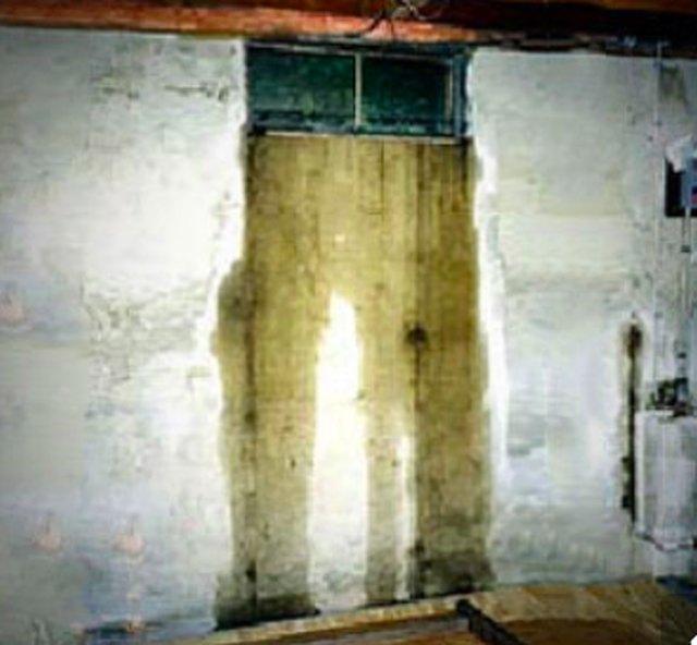Leaking basement window.