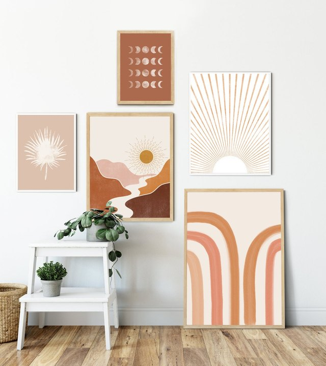 These Art Sets Are the Easiest Way to Set Up a Gallery Wall | Hunker