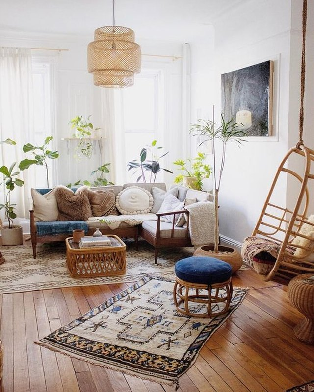 Perfect Bohemian Living Room