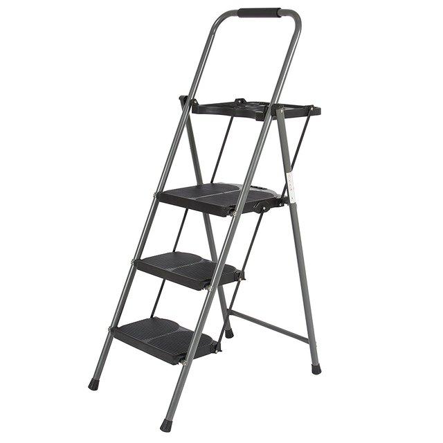 3-step folding ladder