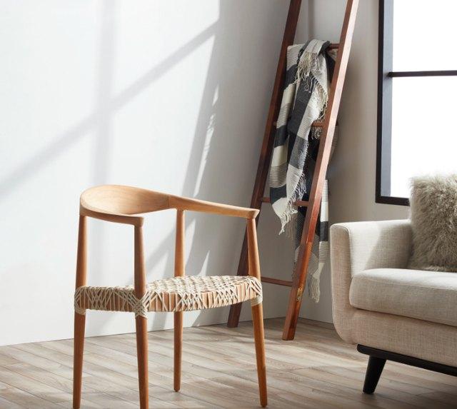 safavieh oak arm chair