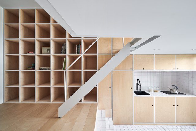 plywood storage