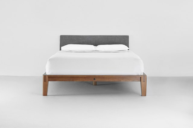 I Tested a Platform Bed Frame With a Tool-Free Assembly   Hunker