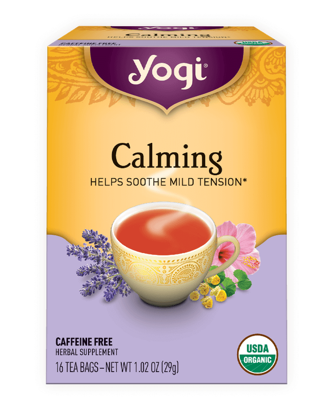 calming tea to soothe tension