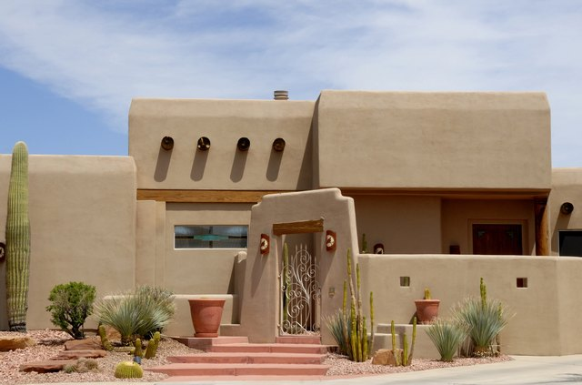 Southwest Adobe Home