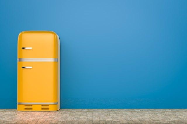 retro design fridge