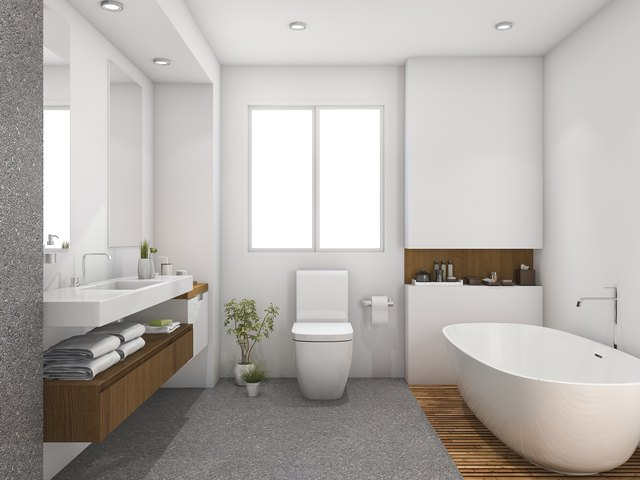 What Type Of Paint To Use For Bathrooms Hunker - What kind of paint to use in bathroom