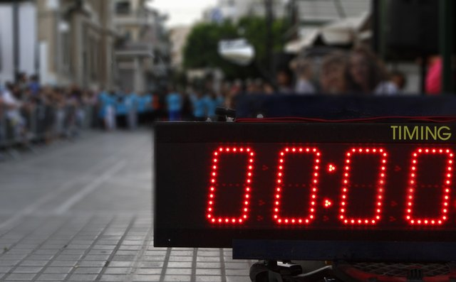 time counter digital display
