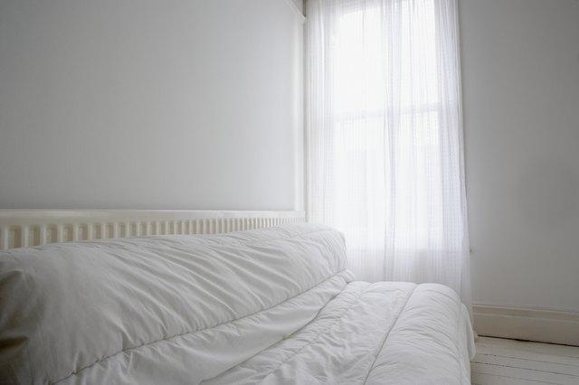 Empty room with futon