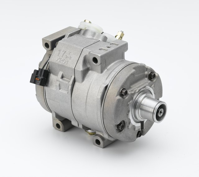Automotive a/c compressor