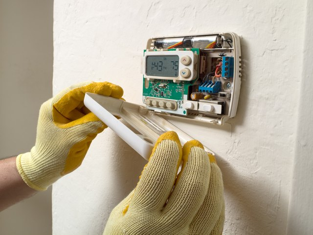 How To Hook Up The Wiring For A Honeywell Thermostat