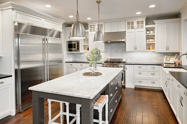 Satin vs. Semi Gloss Kitchen Cabinets | Hunker