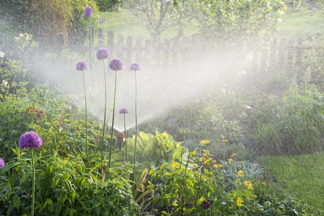How to Install Your Own Lawn Sprinkler System | Hunker
