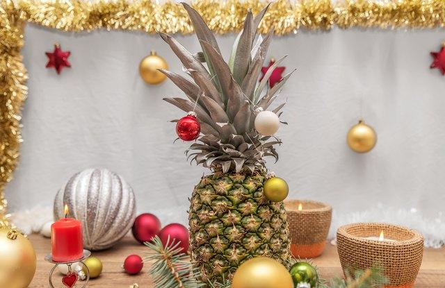 Alternative decorated Christmas tree