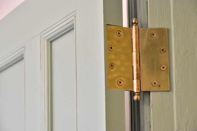 Wooden door hinge