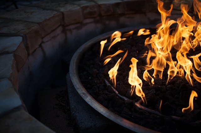 Close Up of Fire Pit