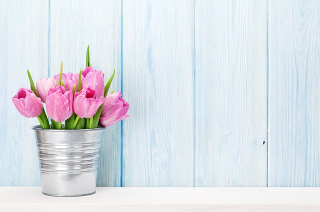 What do tulip colors mean hunker fresh pink tulip flowers bouquet mightylinksfo