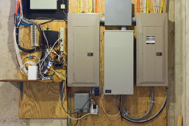 How To Connect Home Electrical Wiring From A House Panel
