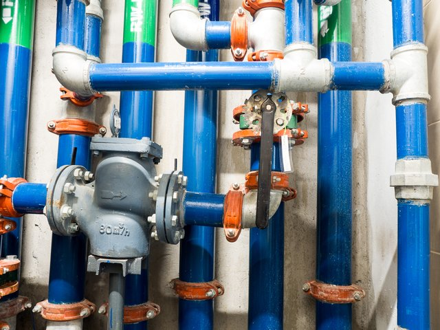 Water pipe clean watering and wastewater in the building construction & How to Connect Galvanized Pipe to PVC Pipe | Hunker