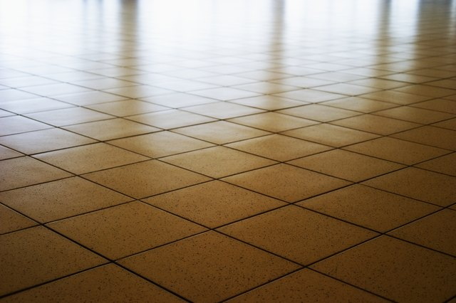 how to clean and shine tile floors